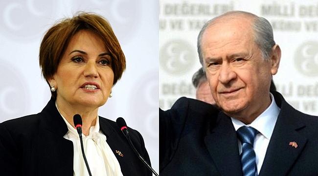 AKP Kulislerinde Bahçeli ve Akşener'li Tartışma