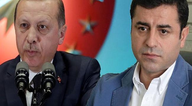 Erdoğan'a Her Seçmen İçin Demirtaş Davası