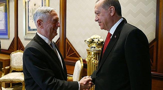 Erdoğan Mattis Görüşmesinde neler Konuşuldu?