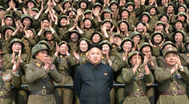 Kuzey Kore'de 3.5 Milyon Kişi, Orduya Katılmak İçin Başvuruda Bulundu