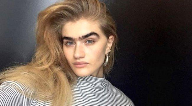 Kaşlarıyla Dalga Geçilen Model Sophia Hadjipanteli, Şimdi Paraya Para Demiyor