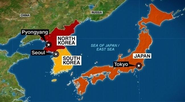 Kuzey Kore Füze Fırlattı Japonya Alarma Geçti