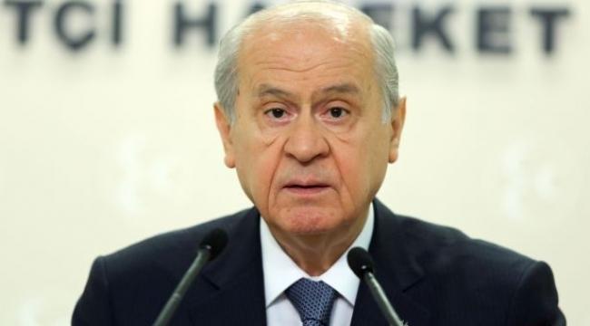 Bahçeli: MHP, Cumhurbaşkanı Erdoğan'ı yalnız bırakmaz...