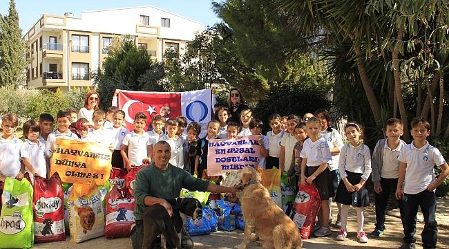 Özel Oğuzhan Özkaya İlkokulu öğrencileri minik dostları ile buluştu.