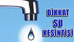 İZSU' dan Su Kesintisi Uyarısı