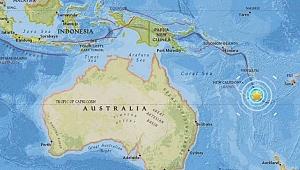 Yeni Kaledonya'da 7.0 Büyüklüğünde Deprem