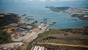 Aliağa limanlarının ekonomiye büyük katkısı