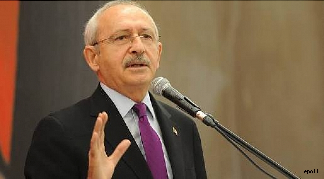 Kılıçdaroğlu' nun kongreye müdahalesi