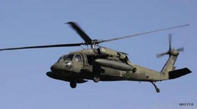 ABD'ye ait helikopter Irak'ta düştü: Yaşamını yitirenler var
