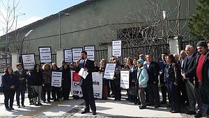 CHP Konak Satılan Fabrikalara ve Özelleştirmelere Sessiz Kalmadı