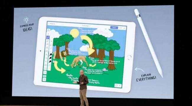 Eğitime odaklanan yeni iPad tanıtıldı