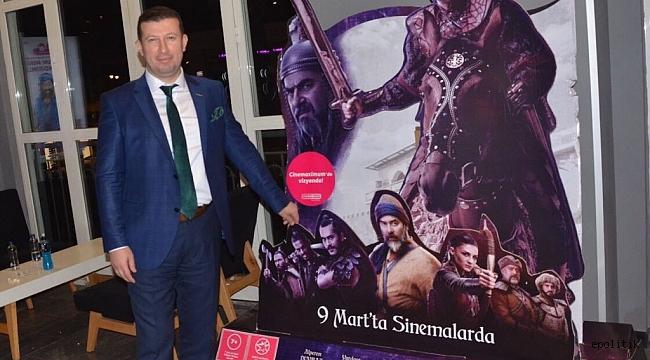 MÜSİAD İzmir Üyeleri Direniş Karatay Filminde Buluştu
