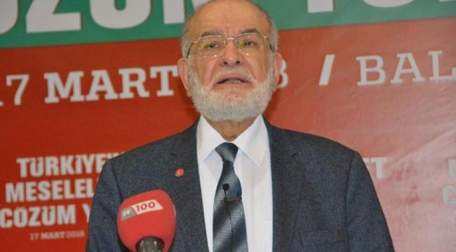 Saadet Partisi'nden ittifak açıklaması