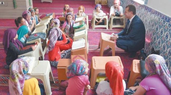 Talimat Bekir Bozdağ'dan: Her köşede Kuran kursu
