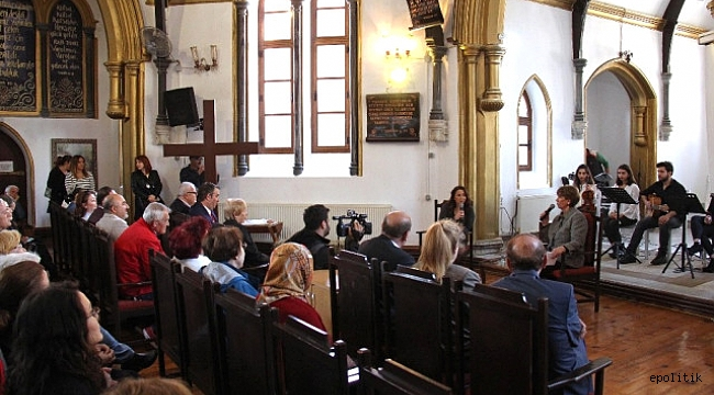 Buca'da Müzikli Kilise Söyleşileri Konuğu Işılay Saygın