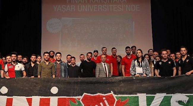 Pınar Karşıyaka'nın gözü Avrupa'da
