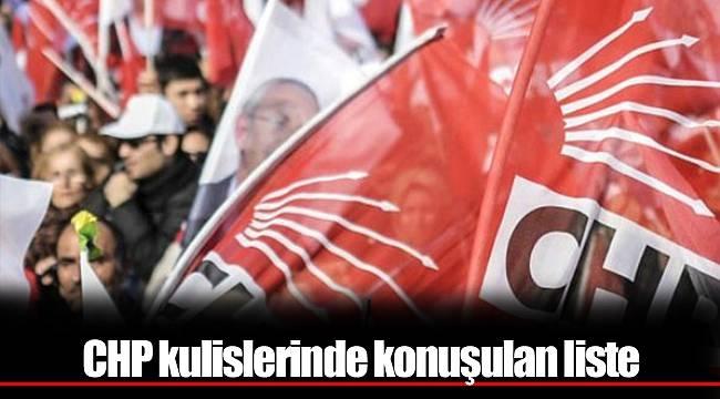 CHP Listelerinde Son Durum