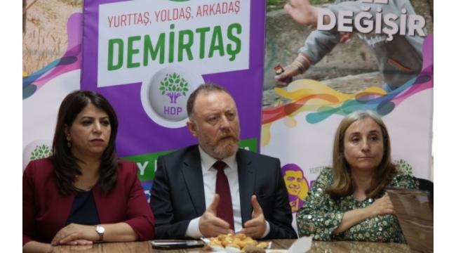 HDP Eş Genel Başkanı Temelli İzmir'de