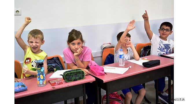 Bornovalı Çocuklar Yaz Atölyelerinde