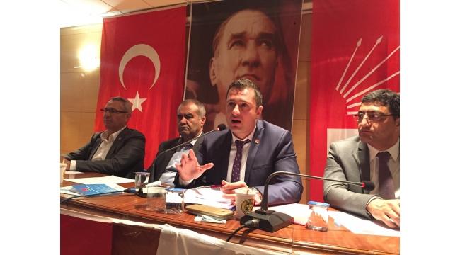 CHP İl Başkanı Yücel'den Örgüte Mesajlar