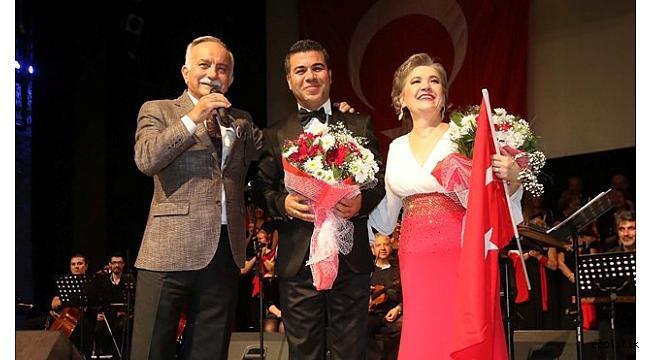 Bir Başka Olur Bayraklı'da Atatürk Anması
