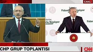 CNN Türk, Kemal Kılıçdaroğlu' nun Konuşmasını Kesti