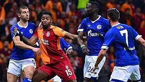 Galatasaray Schalke'den Eli Boş Döndü