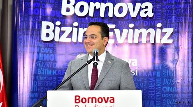 Bornovalı şoför esnafı Başkan Olgun Atila buluştu.