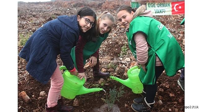Doğa, Çocukların Elleriyle Can Buluyor