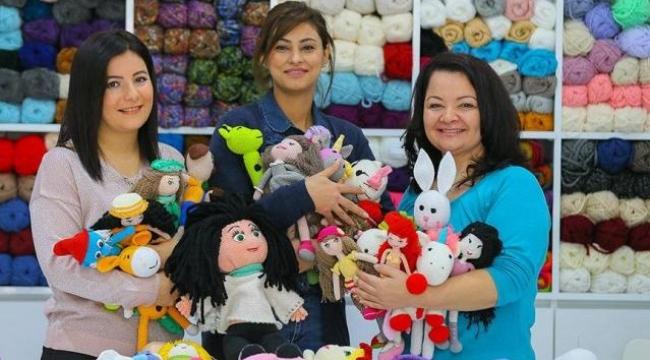 Kadınların Ellerinden Kanser Hastası Çocuklara Mutluluk Dokunuşu