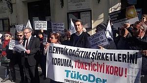 TÜKODER'den Elektrik Protestosu: Dağıtım şirketlerini değil tüketiciyi koruyun