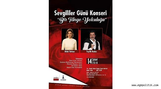 """14 Şubat'ta """"BİR TANGO YOLCULUĞU"""" SÜRPRİZİ…"""