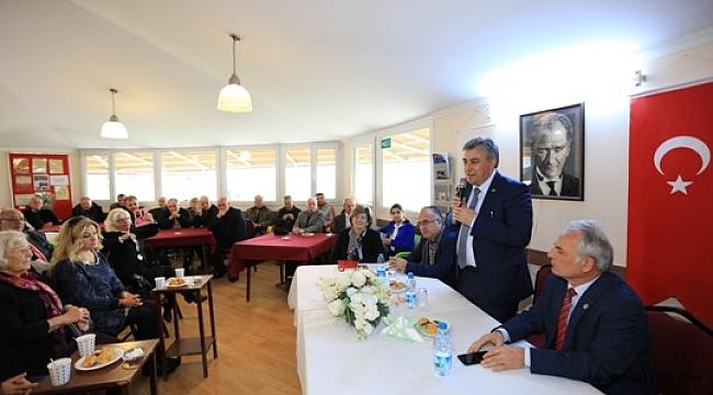 Başkan İnce STK Ziyaretlerine Başladı