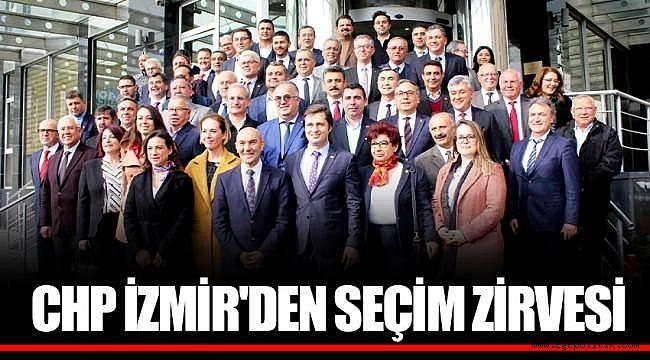 CHP İzmir'den Seçim Startı