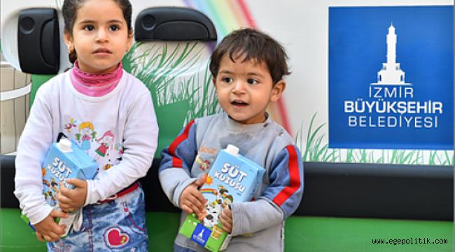 İzmir'de Üretici Mutlu, Çocuklar Sağlıklı