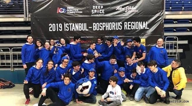 Amerika'da  Robotik Yarışmasında Türkiye'yi İzmir Amerikan Temsil Edecek