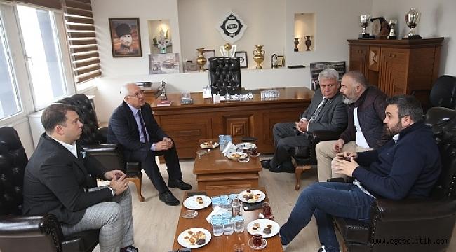 Başkan Selvitopu'ndan Altay'a Ziyaret