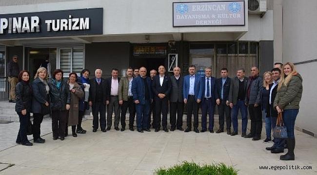 CHP'li Polat, Bayraklı'da Sivil Toplum Örgütleriyle  Buluştu