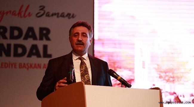 CHP'li Sandal Bayraklı İçin Projelerini  Açıkladı