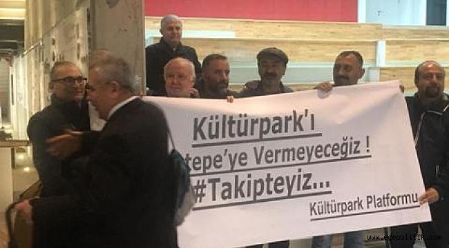 'Kültürparkı Tınaztepe'ye Vermeyeceğiz'