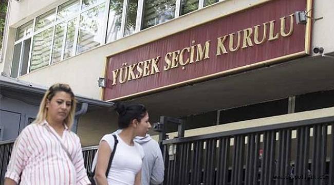 AKP, YSK'ya Olağanüstü İtirazda Bulundu