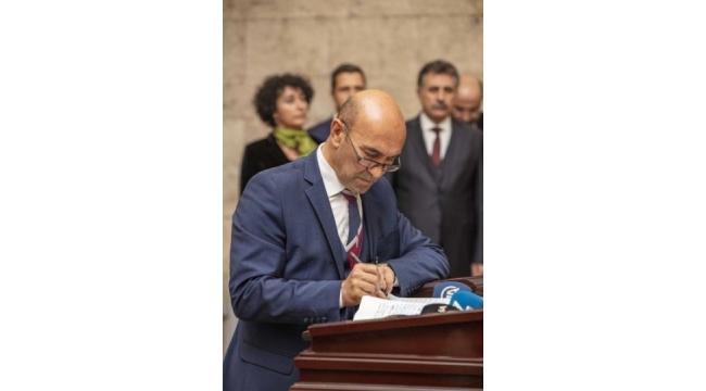 Başkan Tunç Soyer ve İzmir'in İlçe Belediye Başkanları Anıtkabir'i Ziyaret Etti