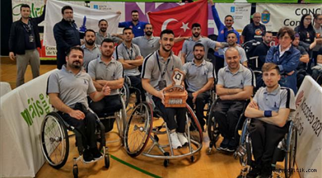 İzmir Büyükşehir Belediyesi, Tekerlekli Sandalye Basketbol Takımı  Avrupa Üçüncüsü Oldu