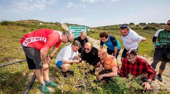 Çeşme'de Pedallar Sakız Ağaçları İçin Döndü