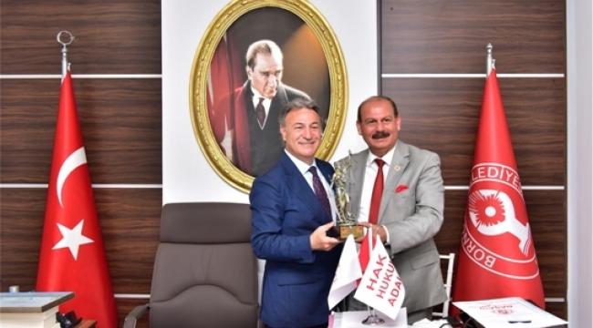 Başkan İduğ'dan Türkiye Meclis Üyeleri Birliği'ne Bornova Daveti