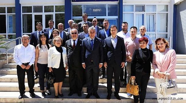 CHP İl Başkanı'ndan İnce'ye Hayırlı Olsun Ziyareti