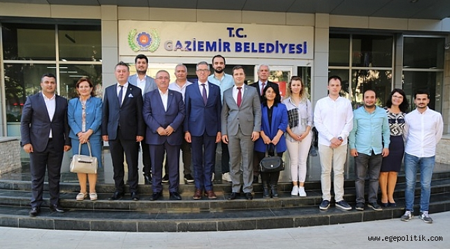 CHP İl başkanı Yücel'den Başkan Arda'ya Kutlama Ziyareti