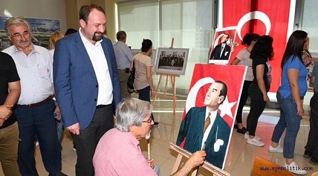 Çiğli'de; Atatürk Sergisi ve Milli Mücadele Söyleşisi