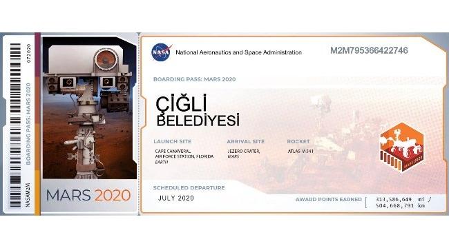 Çiğli Belediyesi Mars'ta