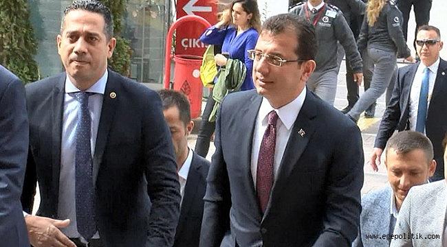 İBB Başkanı Ekrem İmamoğlu, CHP Genel Merkezi'nde